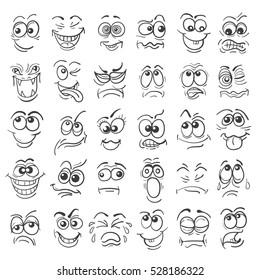 Facial Expression Cartoon Images Stock Photos Vectors Shutterstock
