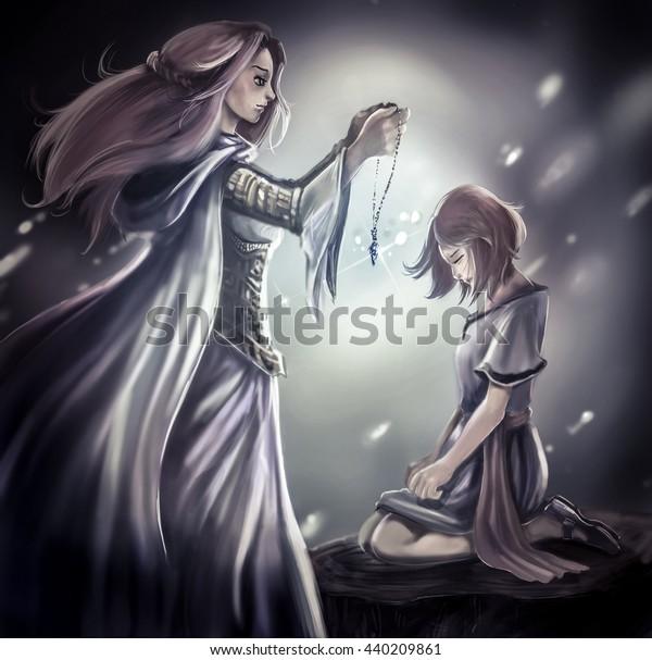 Medieval Fantasy Princess Art