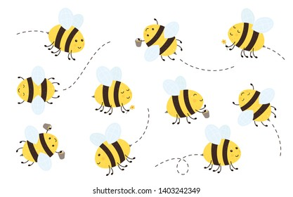 Black White Bee Clipart High Res Stock Images Shutterstock