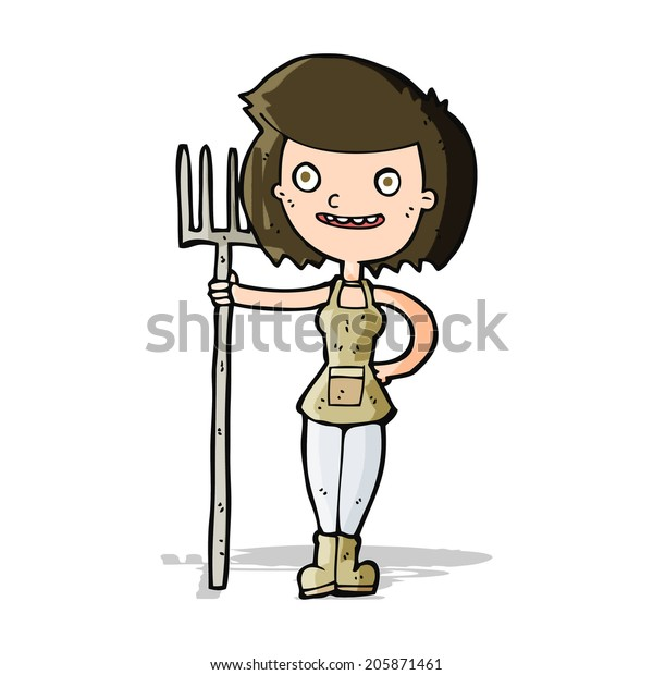 Happy farmer and vegetable garden Clipart   k51598695   Fotosearch