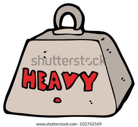 cartoon heavy metal weight stock illustration 102762569 shutterstock