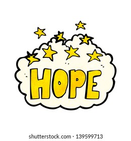 cartoon hope symbol
