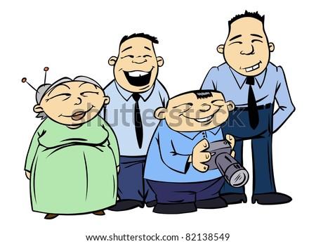 adult cartoon Asian