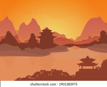 Landscape Of China Images Stock Photos Amp Vectors Shutterstock