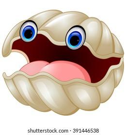 Cartoon oyster