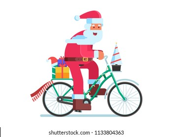 Christmas Bicycle Images Stock Photos Vectors Shutterstock