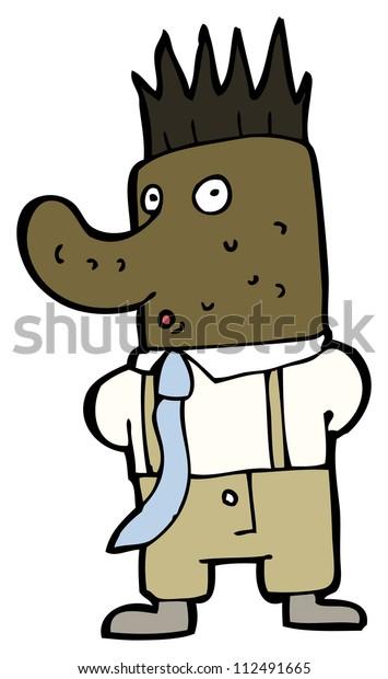 Cartoon Ugly Office Man Stock Illustration 112491665 Cartoon ugly man stock vector. https www shutterstock com image illustration cartoon ugly office man 112491665