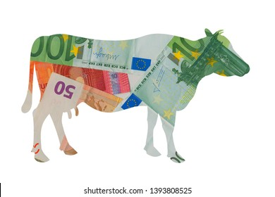 Cash cow - metaphor of business generating financial revenue, income, earning, profit and capital. Animal as source of capitalization and gainful return.