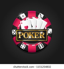 Casino chip. Casino