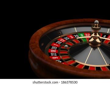 Casino Roulette 3D wheel