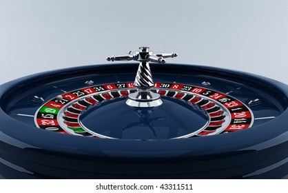 CASINO, THE ROULETTE WHEEL