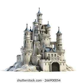 castle 3d illustration