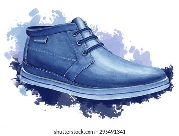 Casual man`s shoes