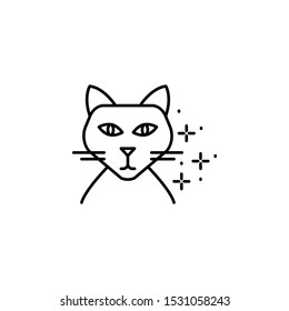 Cat avatar icon. Element of cats icon