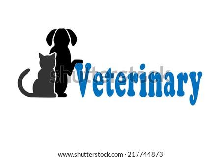 Cat Dog Symbol Veterinary Medicine Stock Illustration 217744873