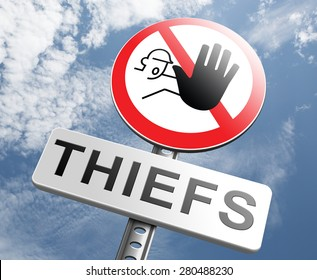 catch thiefs stop theft no robbery or pick pocket thief arrest by police investigation or neighborhood watch prevention