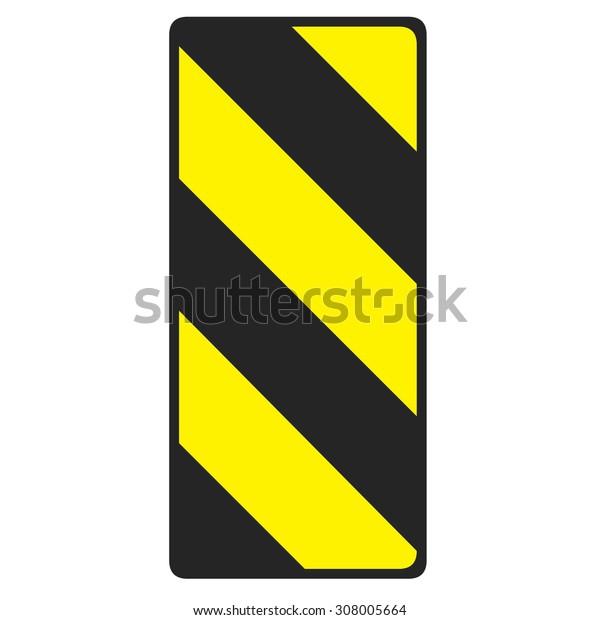 caution line symbol