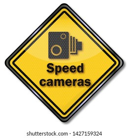 Caution speed cameras and drive slowly
