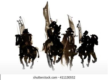 Cavalry warrior corps