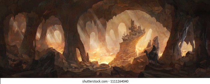Caves of gold - a community of travelers discover an ancient cave - what are it's secrets?