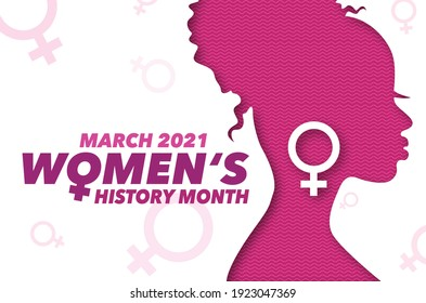 Celebrating Women's History Month March 2021.