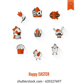 Celebration Easter Icons. . Clean Work Minimum Points