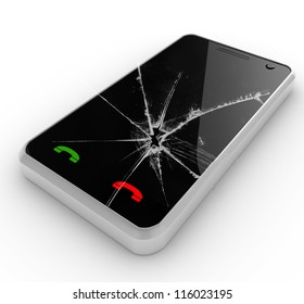 cell with broken glass