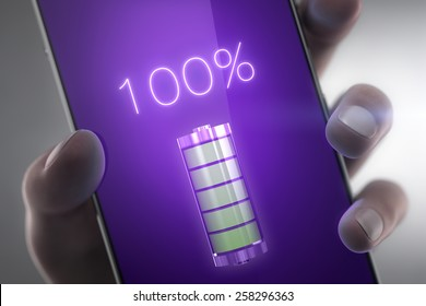 Cell phone battery concept