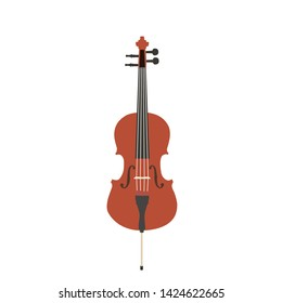 Cello, String Instrument (100x100 cm)