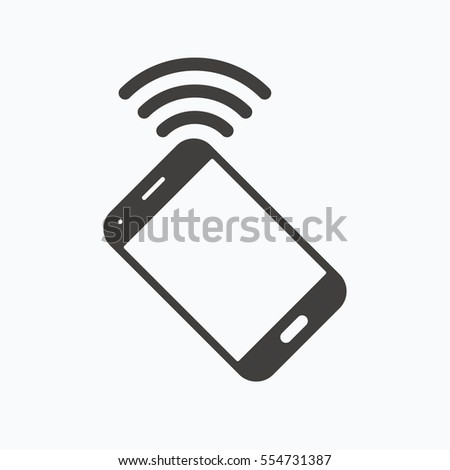 Royalty Free Stock Illustration Of Cellphone Icon Mobile Phone