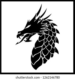 Celtic Dragon Illustration