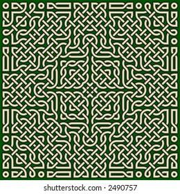 celtic knot design for saint patrick's day