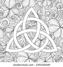 Celtic Design coloring page | Free Printable Coloring Pages | 280x260