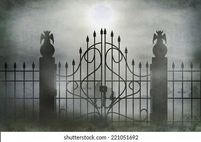 Cemetery Gate Images, Stock Photos & Vectors | Shutterstock