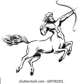 Centaur with a bow