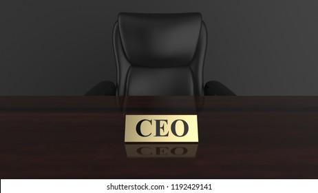 CEO 3d rendering