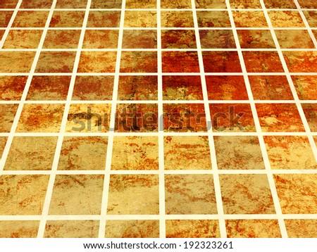 Ceramic Floor Tiles 3 D Render Stock Illustration 192323261