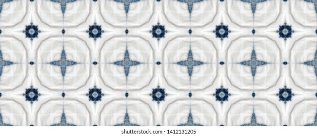 Ceramic tiles pattern. Traditional moroccan decor. Portuguese mosaic. Arabic seamless ornate. Azulejos portugal. Marrakesh ethnic print. Indigo blue dutch tiles. Mediterranean ceramic tableware.