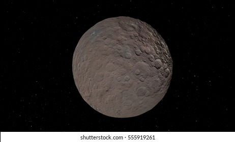Ceres dwarf planet (Elements of this image furnished by NASA)