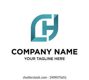CH HC Letter Logo Design vector. Illustration of Letter CH HC