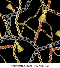 chain and necklace pattern
