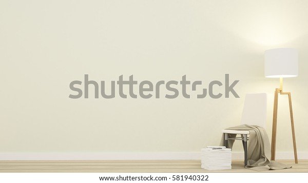 Chair relax space in apartment  - 3D Rendering
