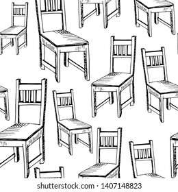 Chair Sketch Images, Stock Photos & Vectors | Shutterstock