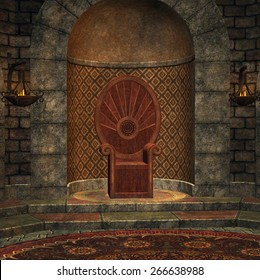 Chamber of throne