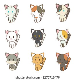 character set of cats