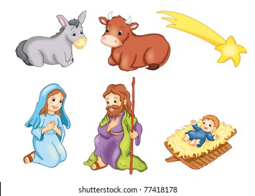 characters manger