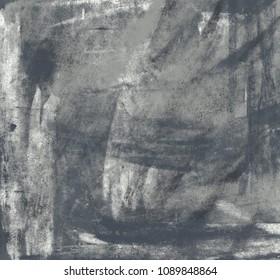 Charcoal drawing on paper handmade. Abstract art texture. Colorful texture. Modern artwork. Modern art. Contemporary art. Artistic canvas.