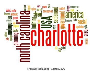 Charlotte word cloud