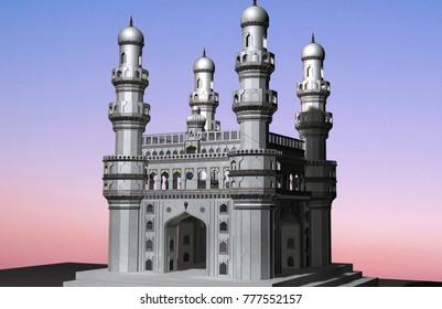 Charminar Hyderabad Images, Stock Photos & Vectors   Shutterstock