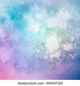 Charming abstract background, light and airy. Pastel shades.